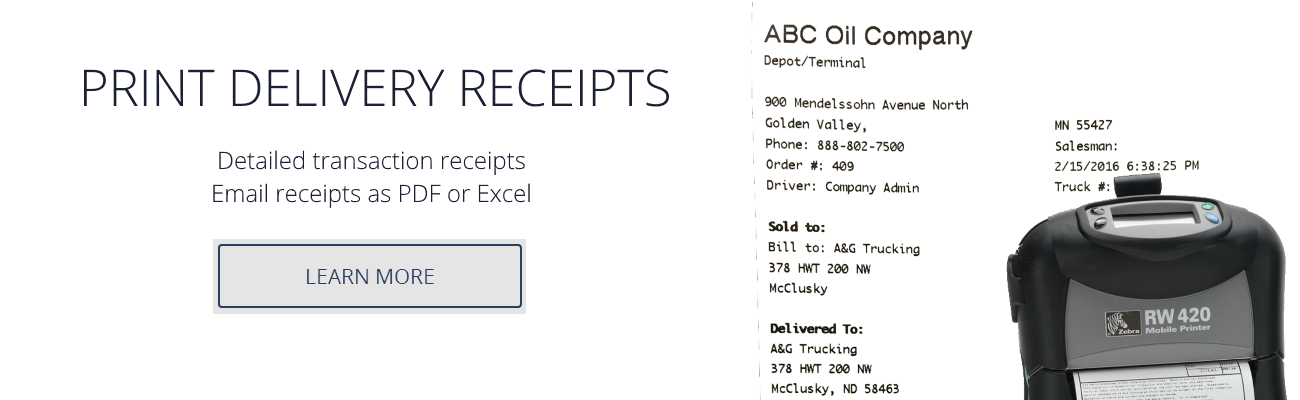 2-print delivery receipts