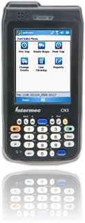 main menu fleet fueling handheld