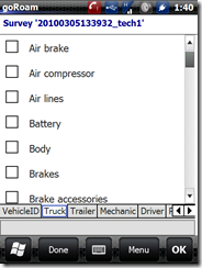 vehicle inspection - truck checklist 1