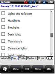 vehicle inspection - truck checklist  2