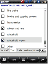 vehicle inspection - truck checklist  3