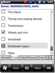 vehicle inspection - truck checklist  3