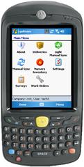 Motorola MC55 with goRoam mobile