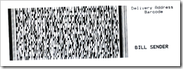 2D barcode image sample