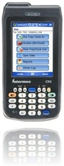 Fleet fueling software on Intermec CN3 handheld